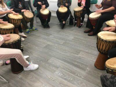 SARAC News – Alternative Therapy (Tribal Drumming)